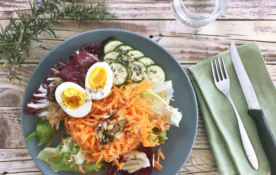 6 TYPES OF SALAD WITH THE CORRECT FOOD COMBINATIONS