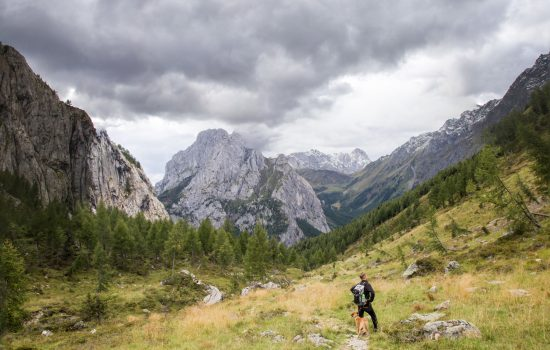 TREKKING IN THE NORTH-EAST OF ITALY: THE BORDAGLIA ALPINE LAKE