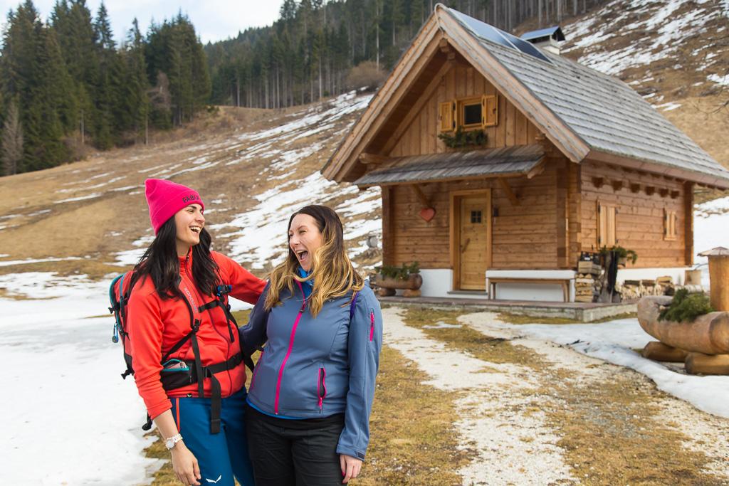 Camminata in Val Bartolo e ciaspolata non riuscita sul monte Goriane