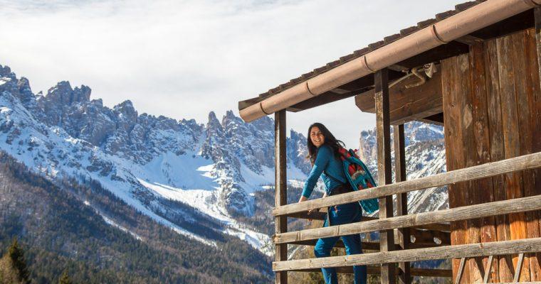 Easy snowshoeing in Forni di Sopra