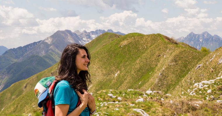 Trekking from Uccea to Casera Caal and Mount Plagne in the natural park of the Julian Prealps