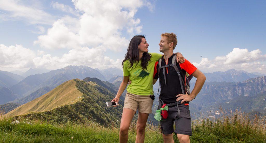 Trekking Malga Coot, bivacco Costantini, monte Guarda e una toccata e fuga fino al passo di Infrababa Grande   Parco Naturale delle Prealpi Giulie