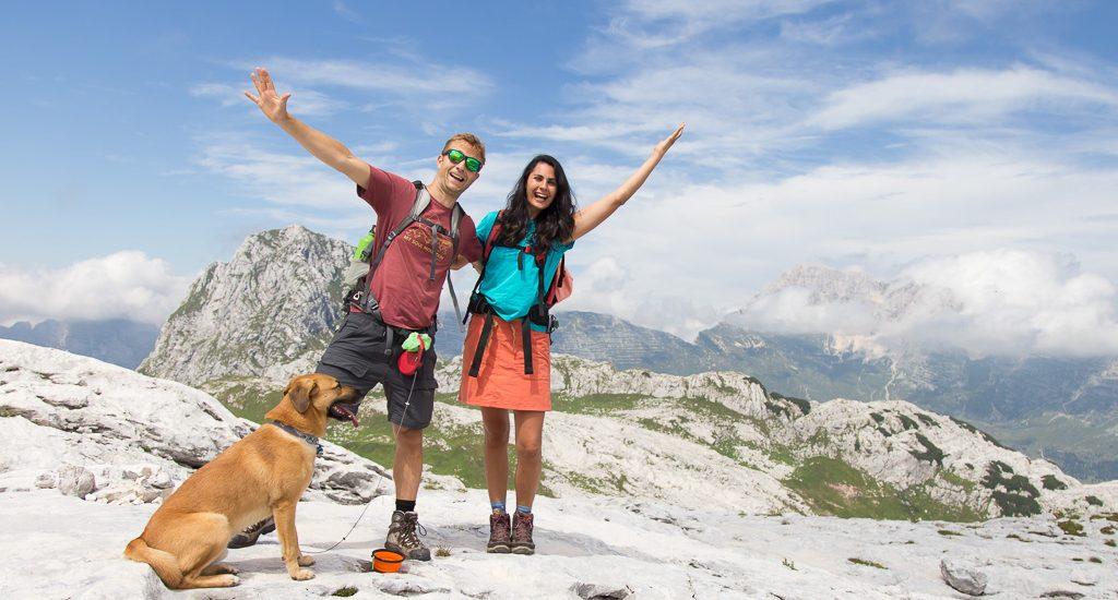 Trekking ad anello Fontanone di Goriuda, Bivacco Marussich e rifugio Gilberti   Sella Nevea