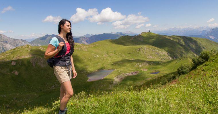 Trekking dei tre laghi dal monte Crostis | Lago di Taront, Lago di Crasulina e laghetti Zoufplan