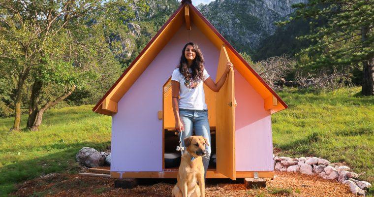 Dormire in una casetta di legno con il tetto trasparente per guardare le stelle. In Friuli si puo' nella Valle del Musi | Lusevera