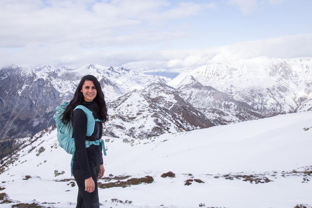come vestirti per un trekking invernale