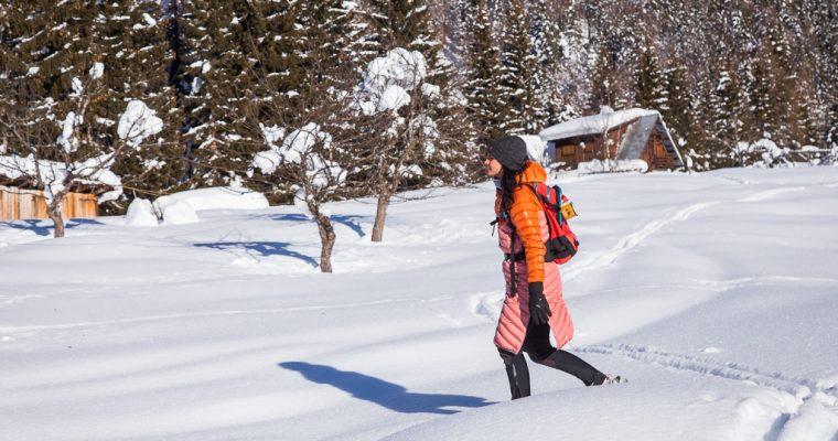 Ciaspolata ad anello verso l'agriturismo Gacceman in Val Filza | Alpe di Ugovizza