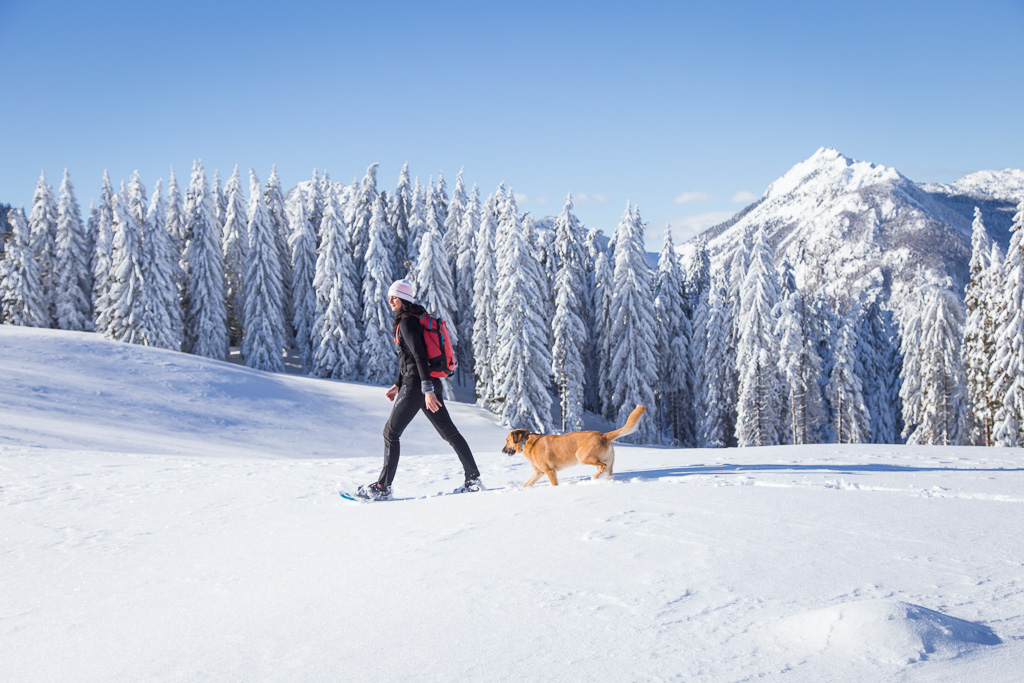come vestirsi per una ciaspolata o un trekking invernale