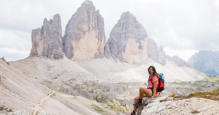 MY TREKKING AROUND THE 3 CIME DI LAVAREDO | PHOTO AND VIDEO FROM THE DOLOMITES