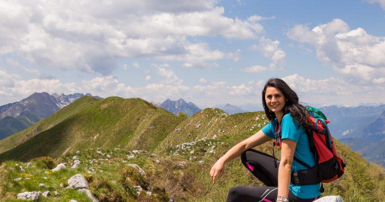 Trekking Uccea, Casera Caal e Monte Plagne
