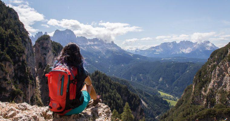 Trekking ad anello da Tires al rifugio Bolzano   Trentino Alto Adige