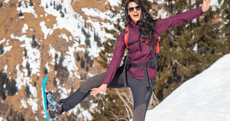 Come vestirsi per un trekking invernale o una ciaspolata