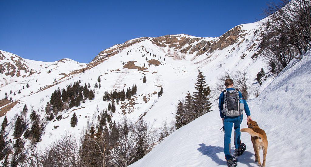 Trekking invernale da Castel Valdaier verso il lago Dimon | Epic fail + pranzo memorabile a Paluzza