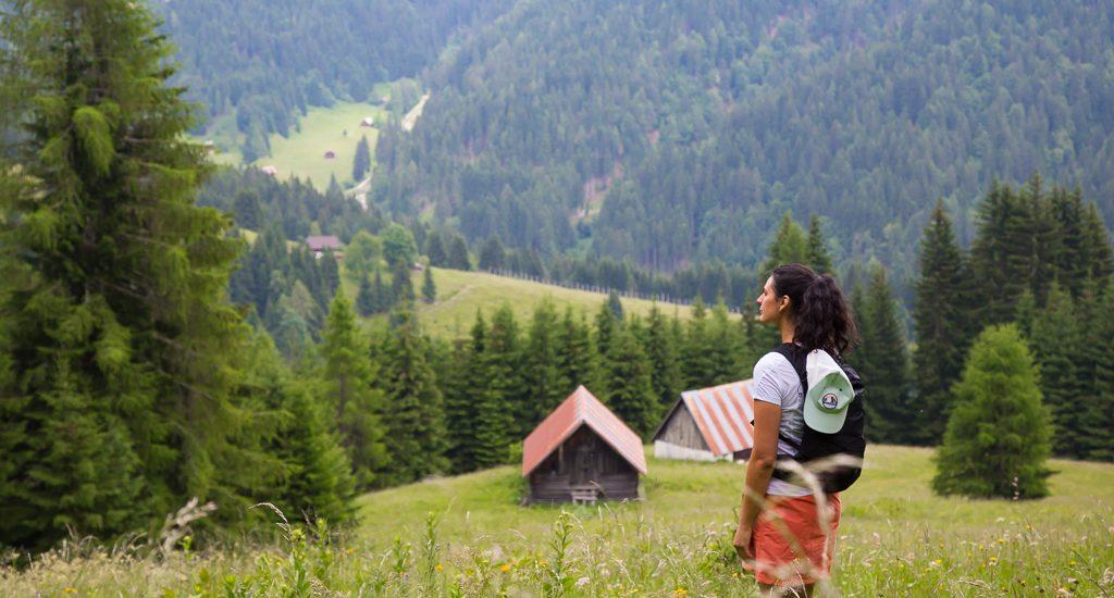 Ex-villaggio Cocco dal Rifugio Gortani | Facile camminata nell'Alpe di Ugovizza